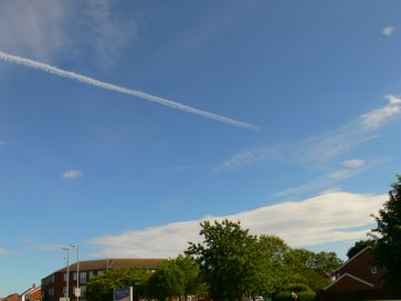 chemtrails UK 2018
