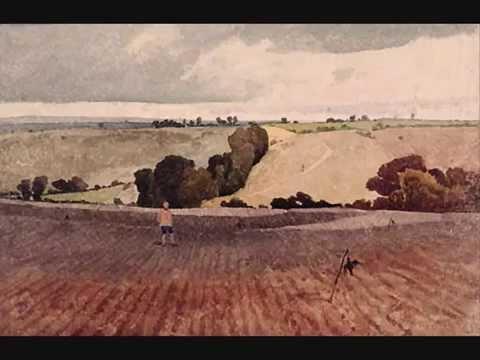 john sell cotman ploughed field and scarecrow