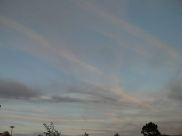 chemtrails UK 7th Aug 2018