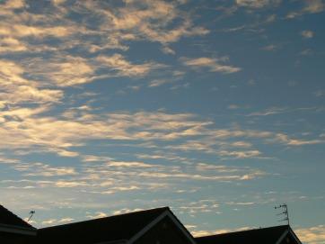 Mon 10th Dec 2018 14:53 GMT ... changable sky today.