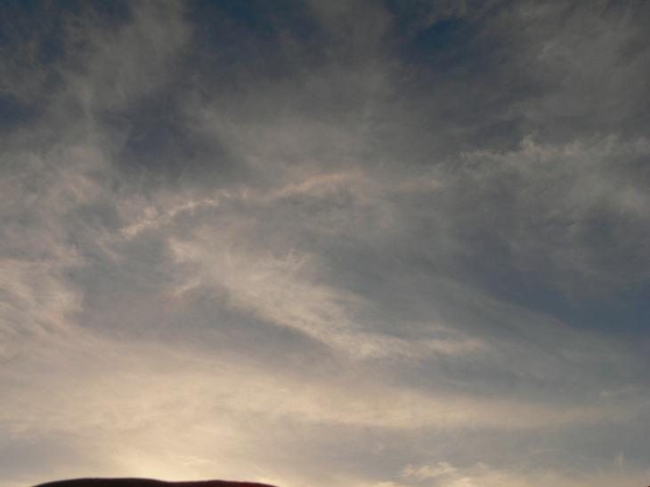 Mon 16th Dec 2018 NE UK chemtrail activity a very aluminized sky
