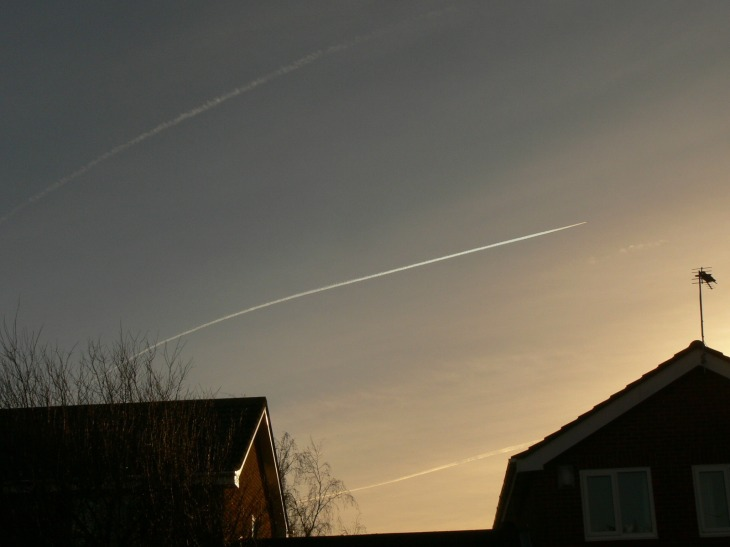 17th Dec 2018 Monday ... chemtrails gone stupid all day