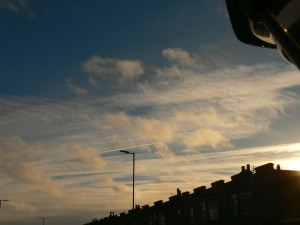 chemtrail activity UK 2nd Dec 2018
