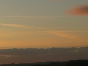distant chemtrail