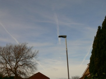 26th Jan 2019 UK chemtrails 10:53 G