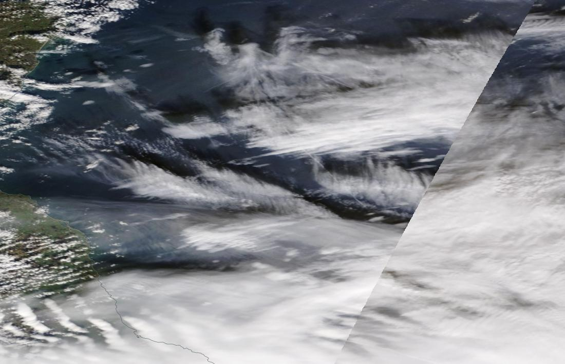 North Sea larger view Sunday 3rd March 2019 ... https://go.nasa.gov/2IOoifW