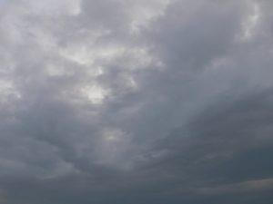 23rd Feb 2019 Saturday . a chemtrail / alumunized sky.