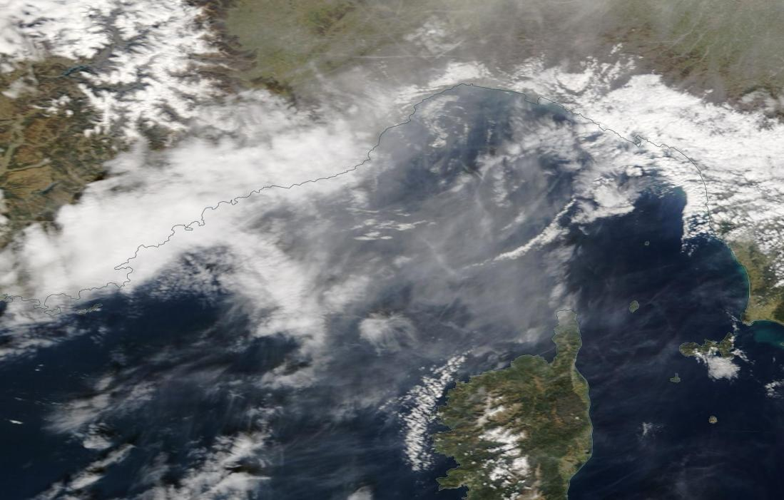 chemtrails Corsica Gulf of Genoa 9th March 2019 ... https://go.nasa.gov/2J1a4sc