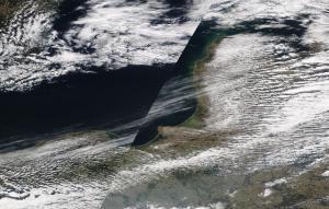 chemtrails Gulf of Gdansk 31st March 2019 https://go.nasa.gov/2FGIFqR
