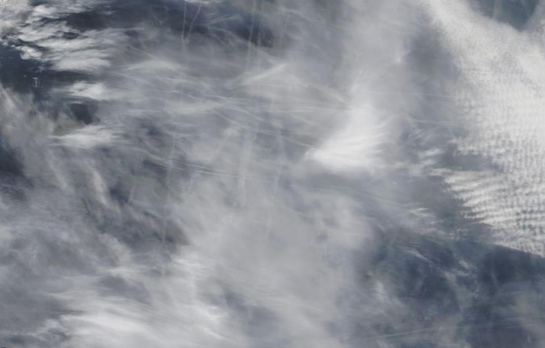 chemtrails Mediterranean Mallorca to Sardinia 6th March 2019 ... https://go.nasa.gov/2H4LDs6