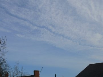 chemtrail northern England 23 March 2019 Saturday morning 08:43 hrs