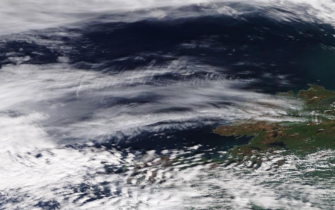 chemtrail suspected Rockall ie west of Ireland 6 April 2019 ... https://go.nasa.gov/2Uu5zLB