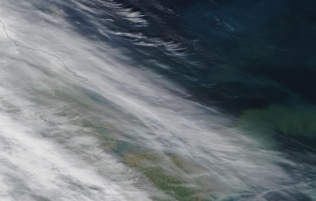 chemtrails Eastern England, Humber 16th April 2019 ... https://go.nasa.gov/2Ggvqxf