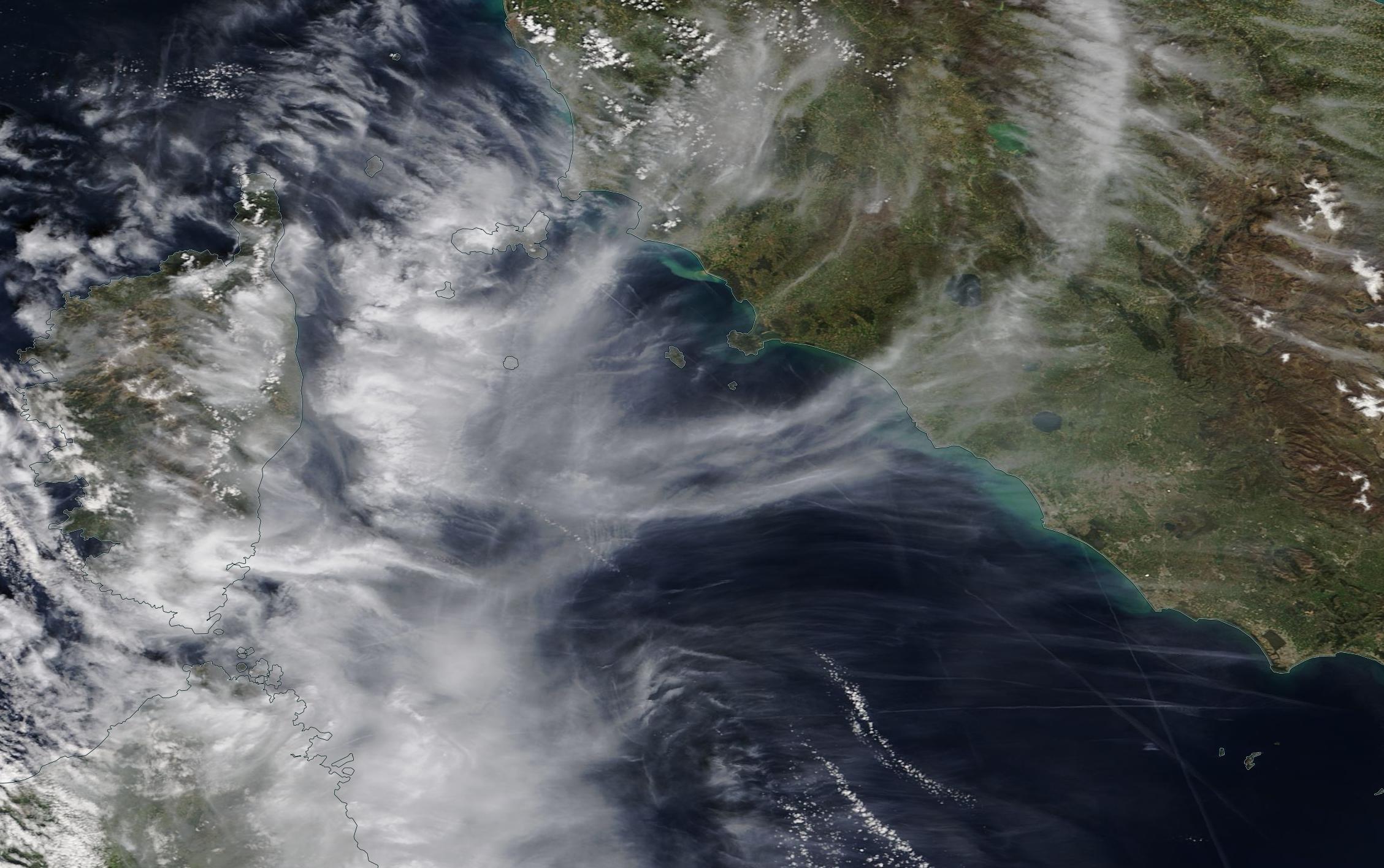 chemtrails geoengineering Corsica Sardina Italia 6 April 2019 ... chemtrail geoengineering English Channel Brittany 6 April 2019 ... https://go.nasa.gov/2UAhXtn