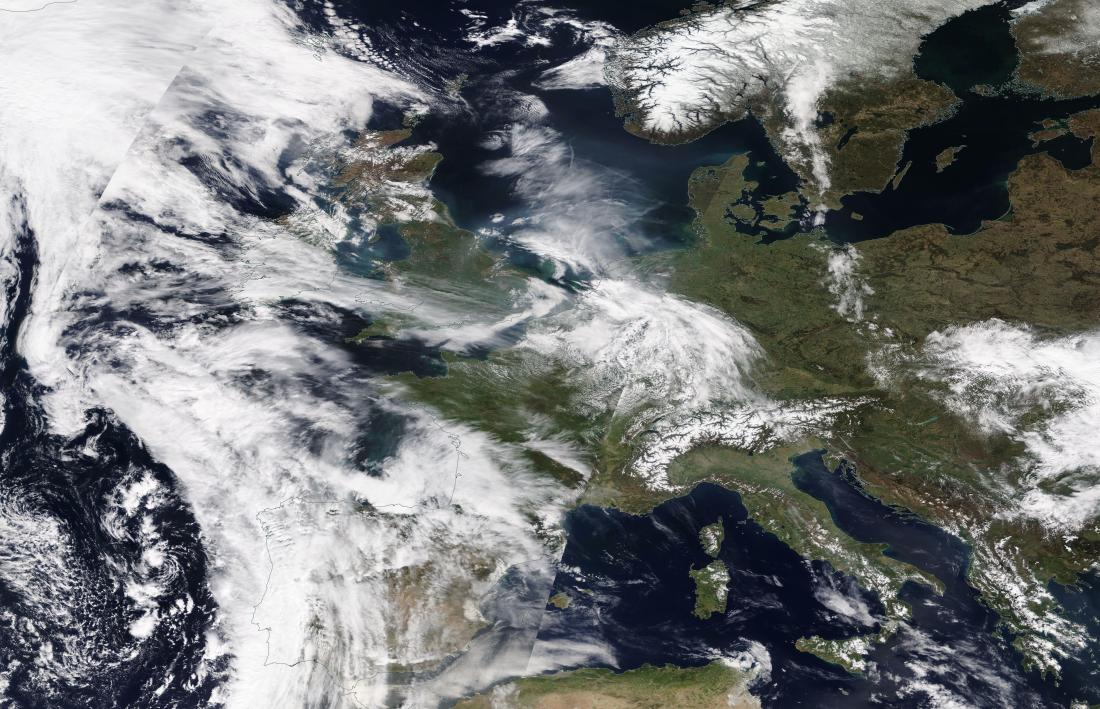 chemtrails geoengineering Europe 17th April 2019 ... https://go.nasa.gov/2UqN8Dk