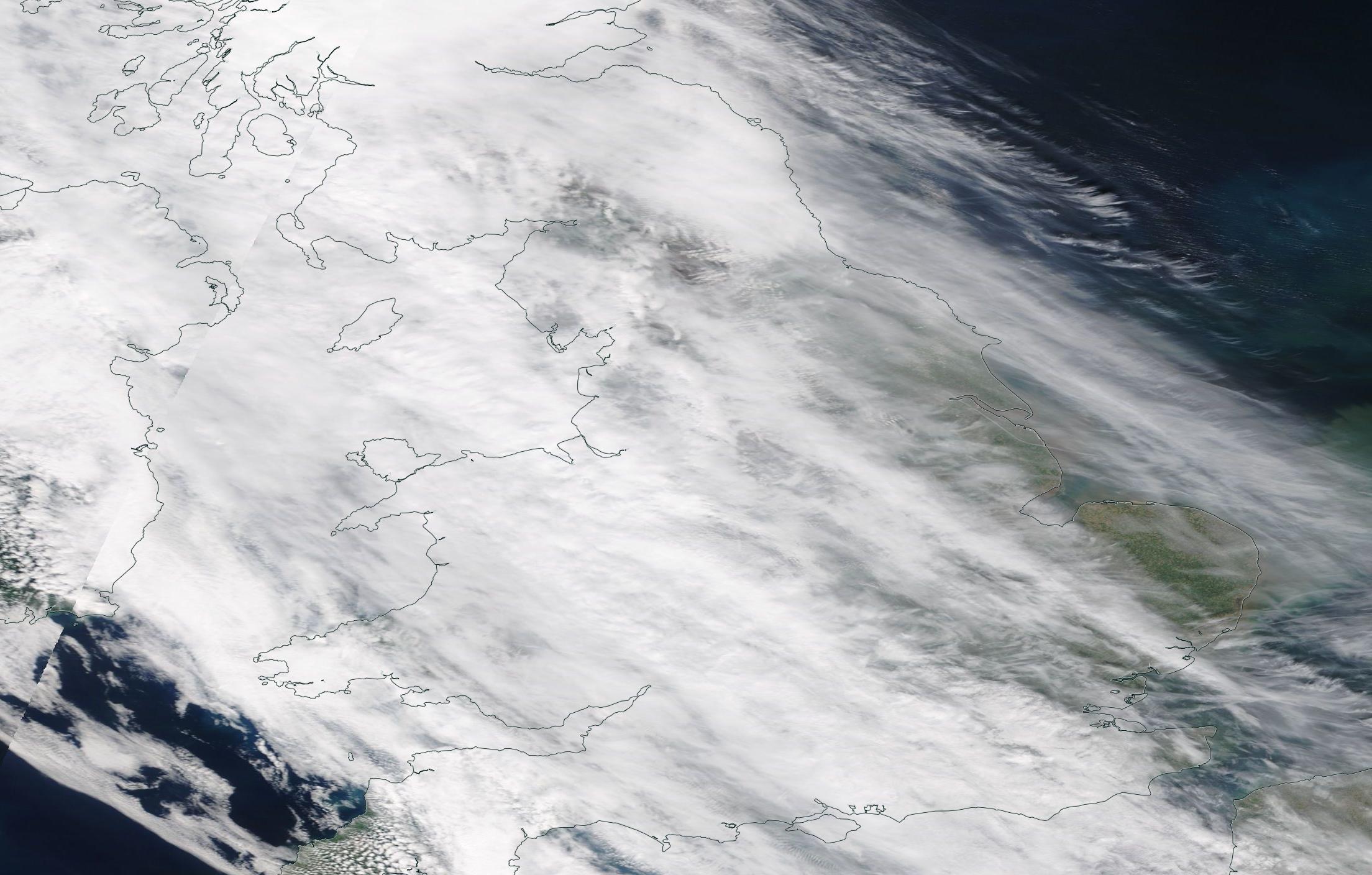 chemtrails / geoengineering UK 16h April 2019 ... https://go.nasa.gov/2UW3hVN