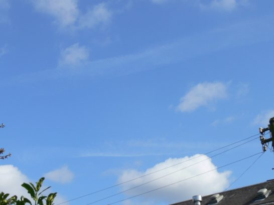 uk chemtrail geoengineering 1st April 2019 11:47 BST a lot of chemtrail this morning. Afternoon totally overcast.