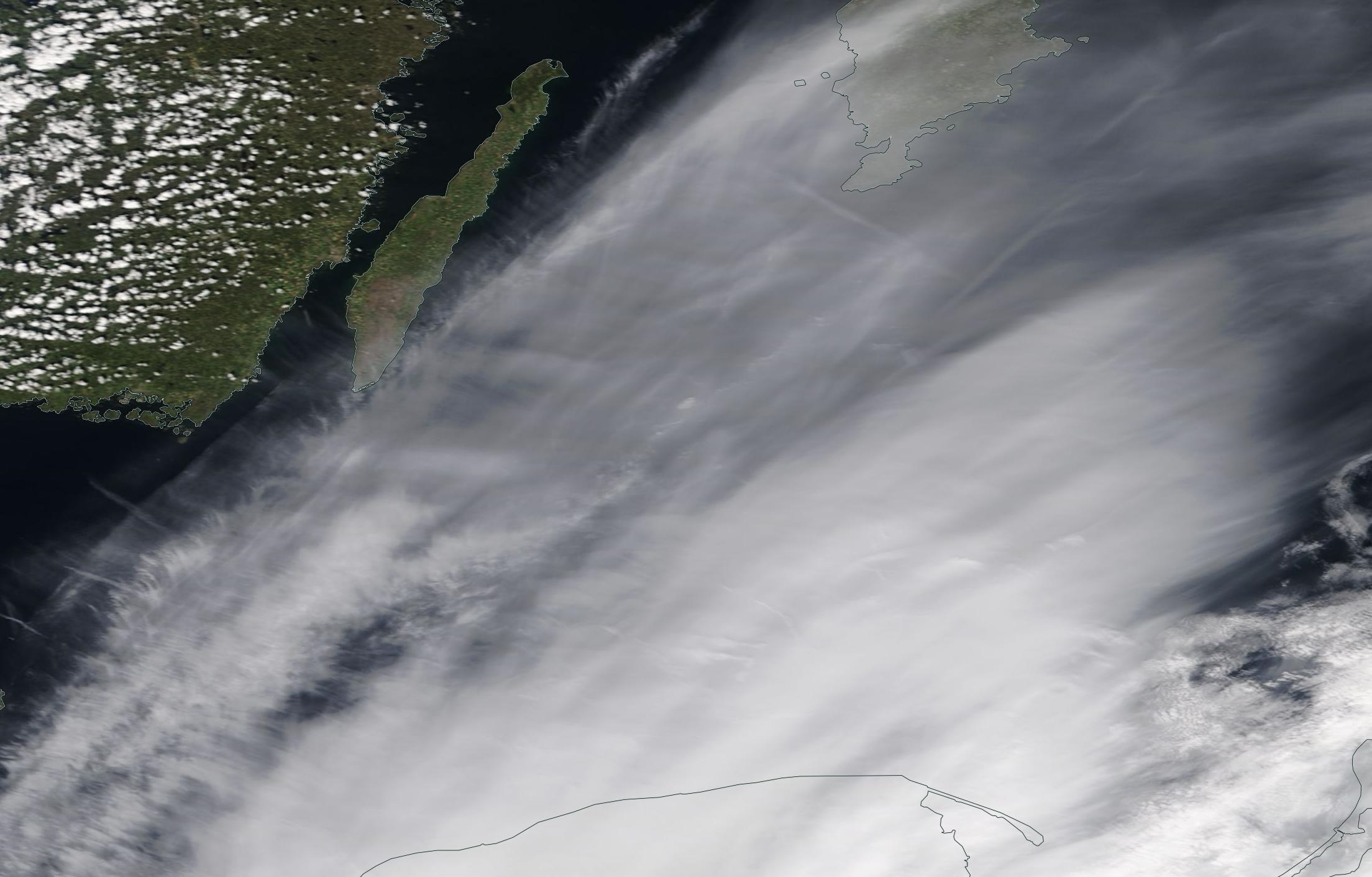 Baltic Sea, Oland, Gdansk chemtrails geoengineering Sunday 12 May 2019 ... https://go.nasa.gov/2E4JQ37