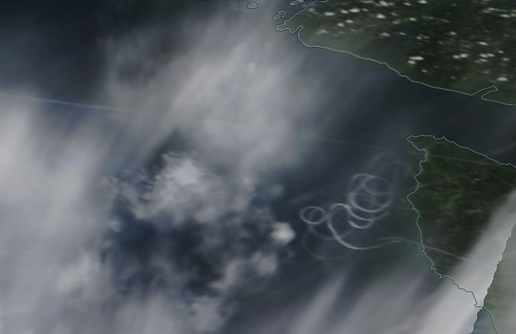 Cape Flattery, Neah Bay, Vancouver, chemtrail geoengineering 15 May 2019 ...https://go.nasa.gov/2JPJdhT