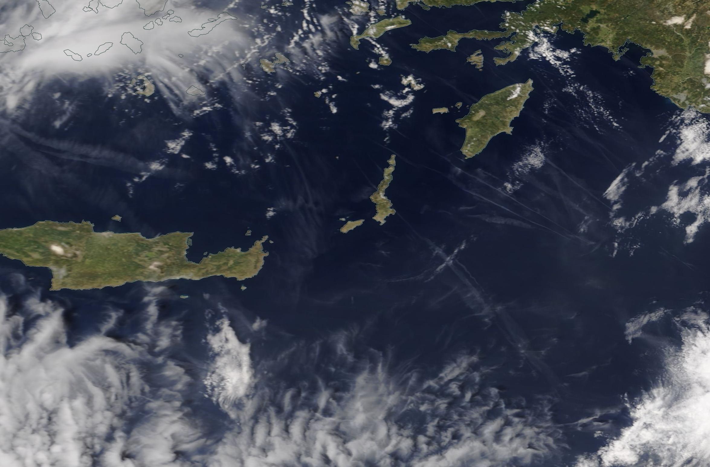 chemtrail geoengineering eastern Mediterranean Wed 1st May 2019