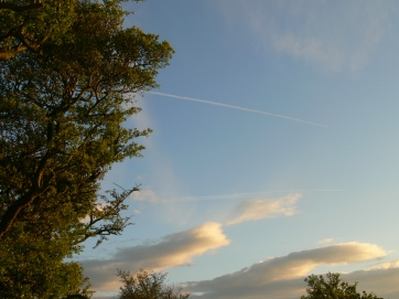 chemtrail geoengineering north east England early evening 6 May 2019