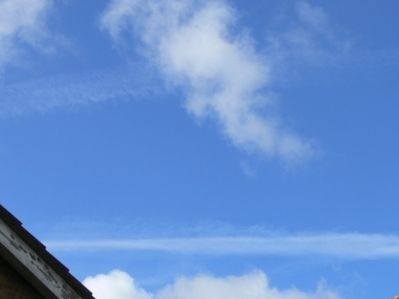 chemtrail geoengineering north east England 7 May 2019