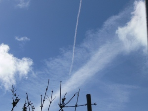 chemtrail geoengineering north east England 7 May 2019