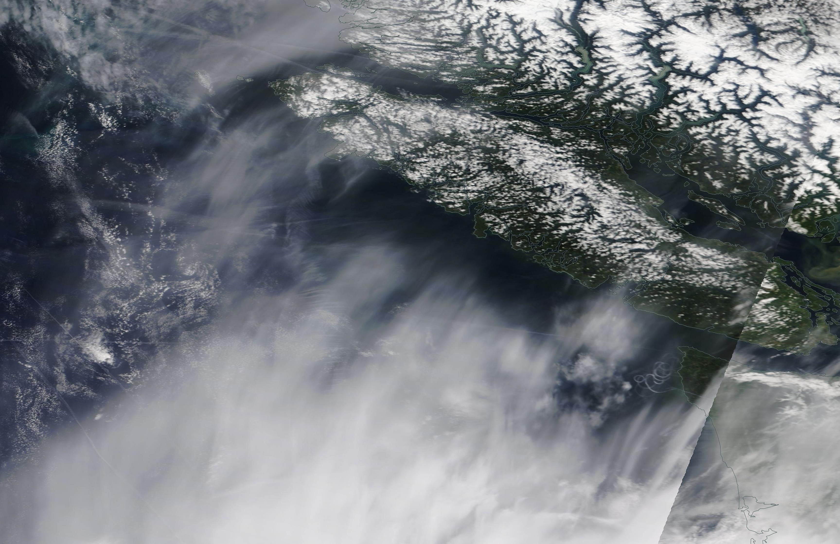 Vancouver chemtrail geoengineering 15 May 2019 ... https://go.nasa.gov/2JS8yrx