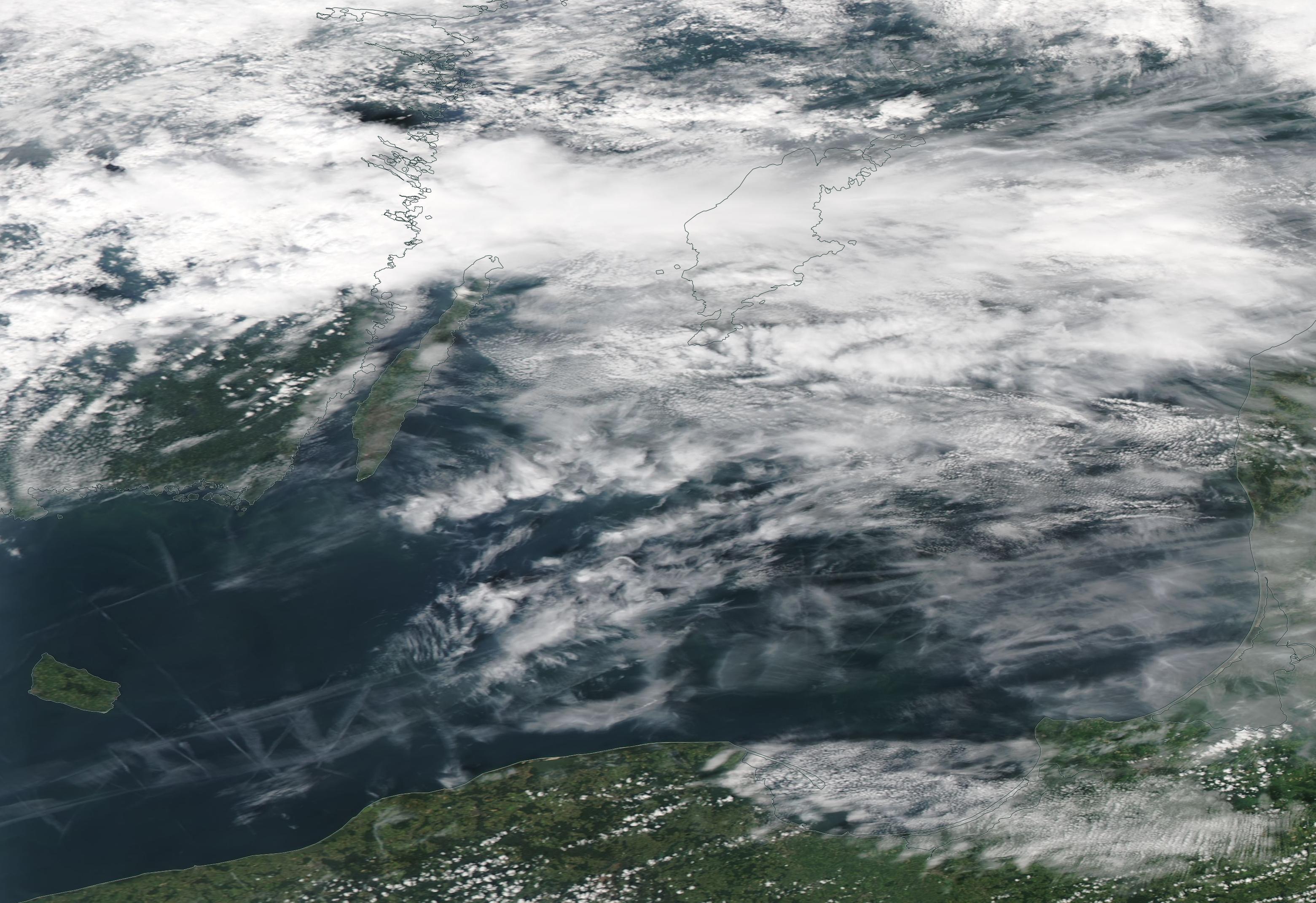 Wednesday 29th June 2019 chemtrail geoengineering Baltic Sea ... https://go.nasa.gov/31XZGHa