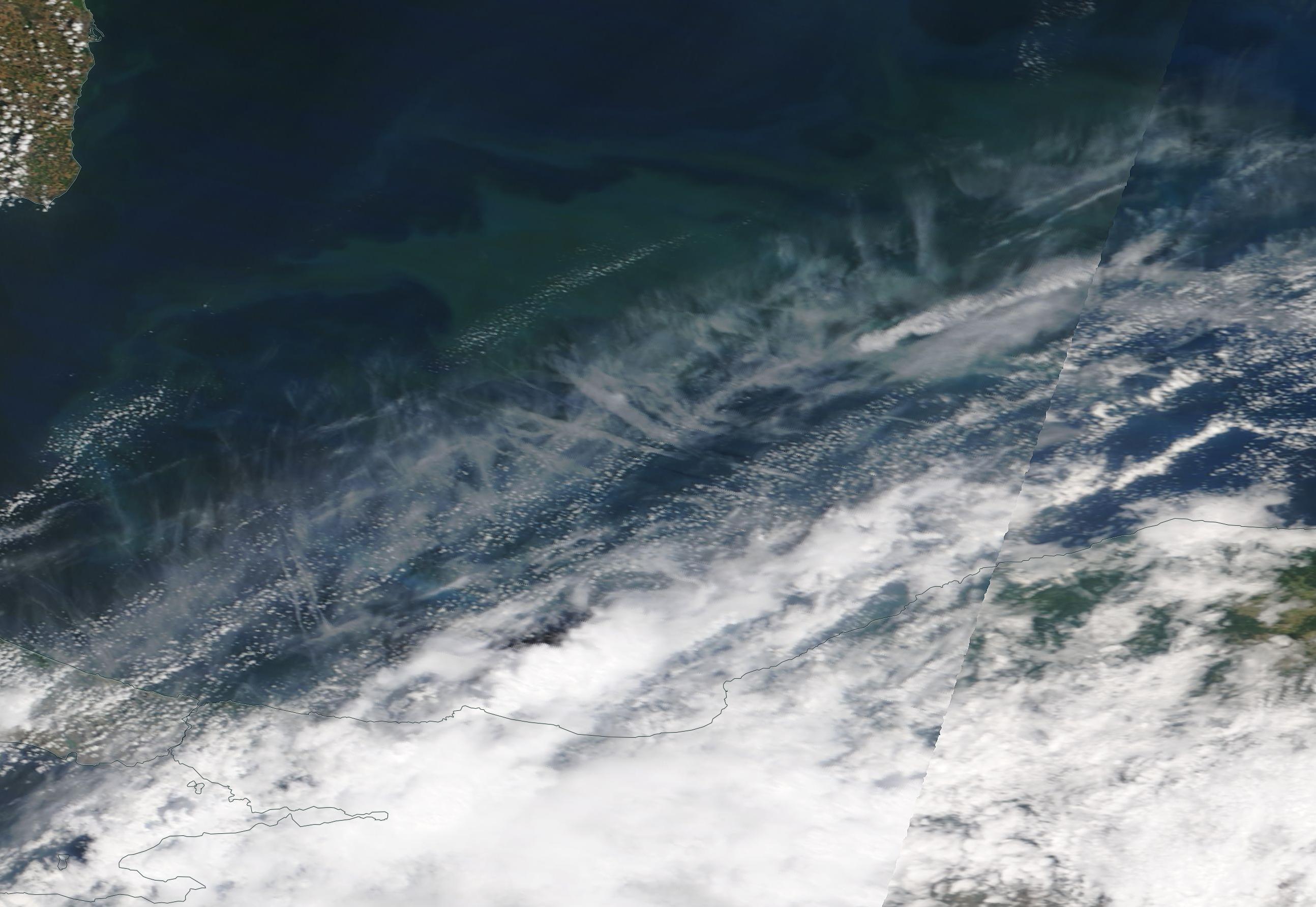 Black Sea chemtrails geoengineering Wednesday 17 July 2019