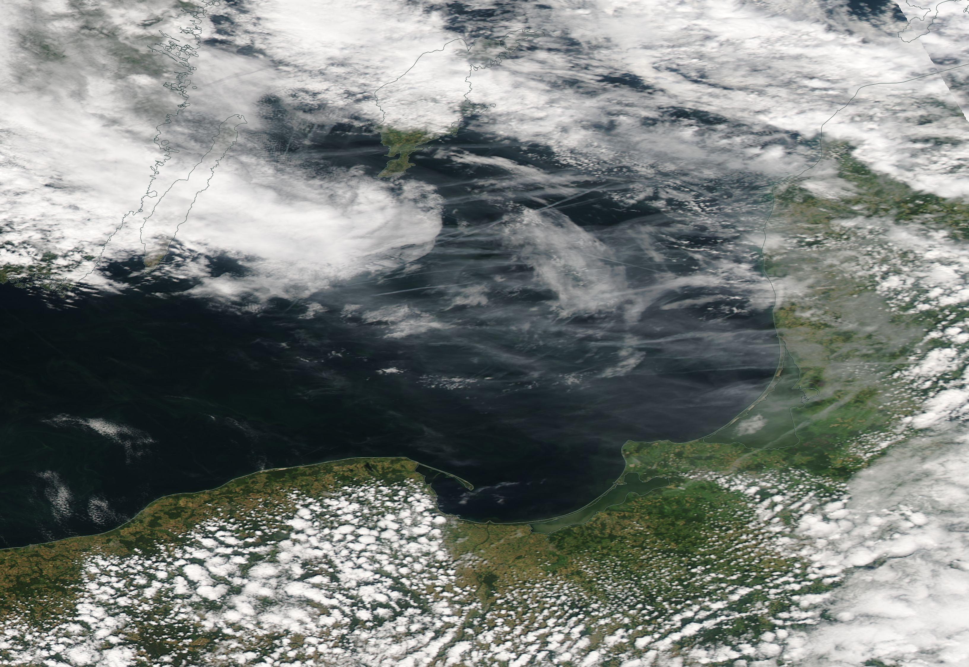 Gdansk, Gotland, Kaliningrad chemtrail geoengineering https://go.nasa.gov/2llrHYv