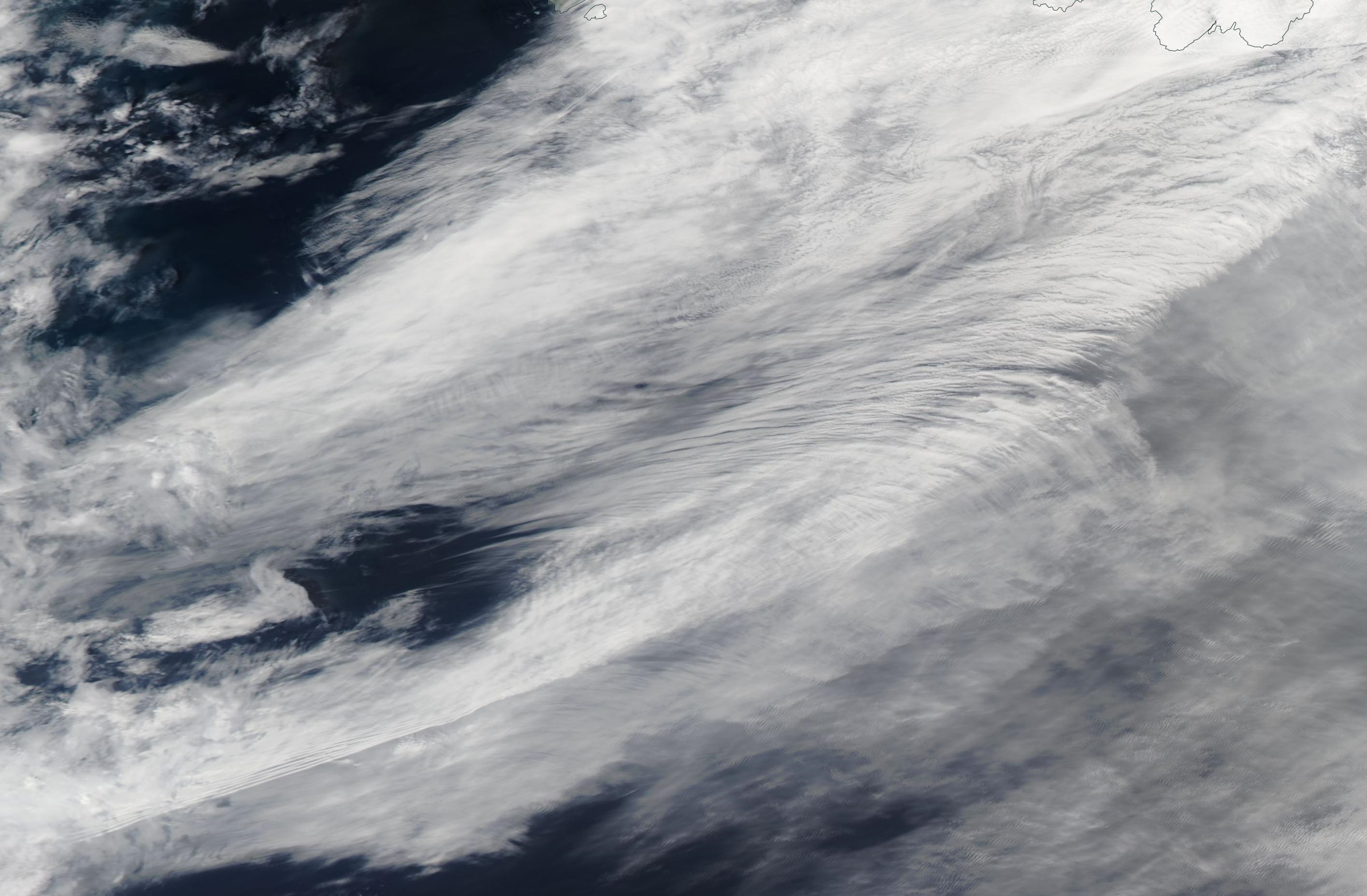 Western Atlantic suspected chemtrail geoengineering 24 July 2019 https://go.nasa.gov/2ybfzMY