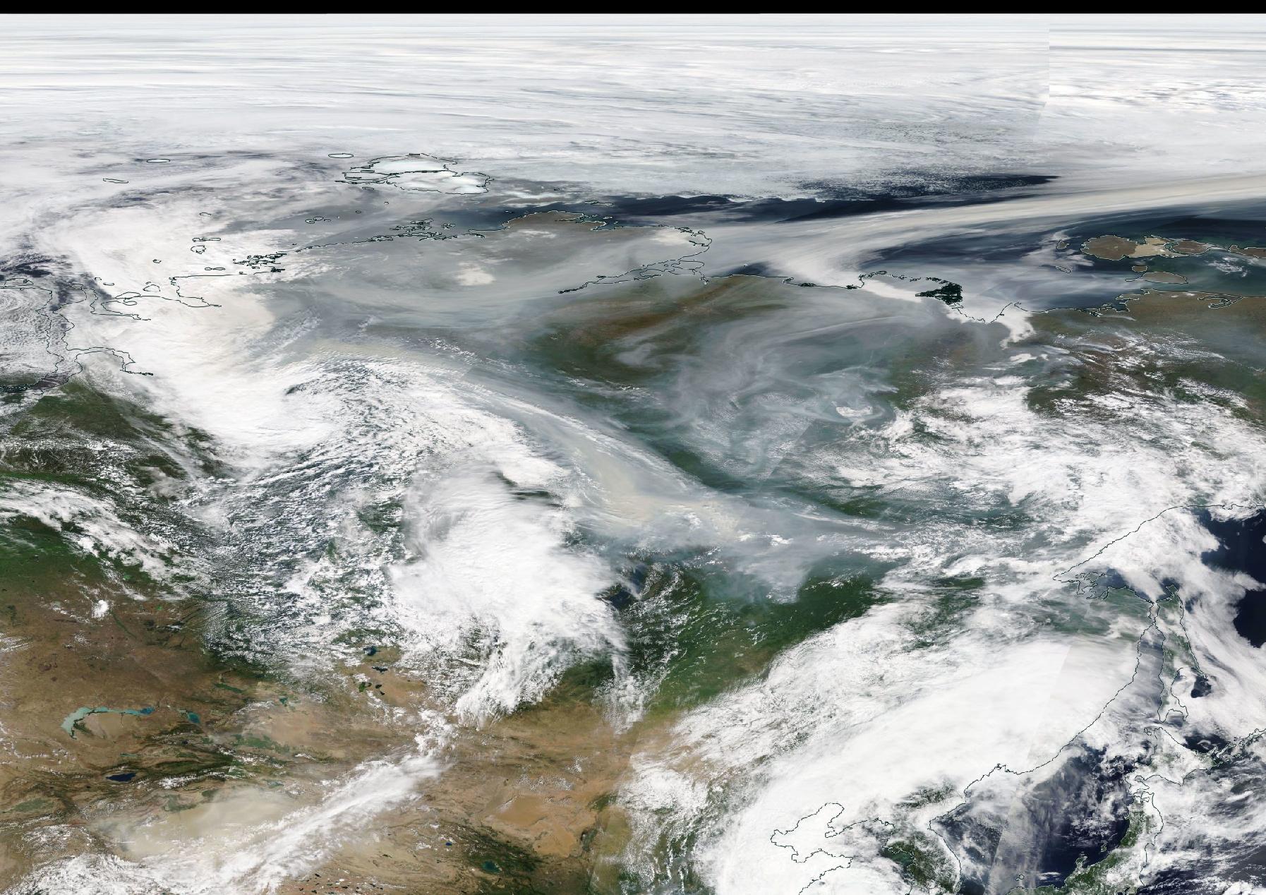 Siberia worldview screenshot 11 Aug 2019 https://go.nasa.gov/2OPxvI4
