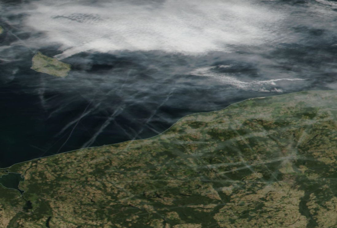 Koszalin chemtrails. Sun 22 Sept 2019.  https://go.nasa.gov/30cQTTX