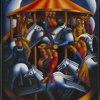 Mark Gertlers merry-go-round of greed and stupidity.
