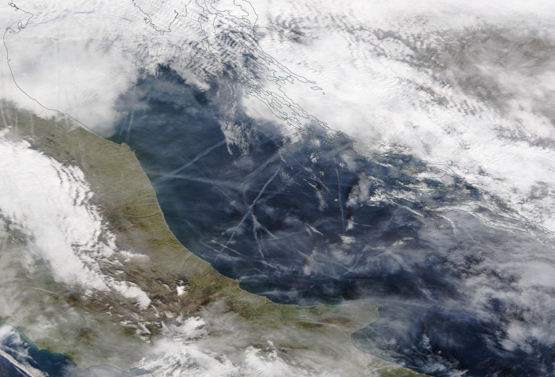 Ancona, Pescara Italy and the Adriatic chemtrails 3 Feb 2020 ... https://go.nasa.gov/2GNCYZ2
