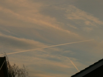 5th Feb NE England chemtrail geoengineering,
