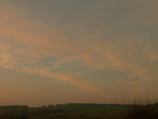 7th Feb NE England chemtrail geoengineering, chemtrail turned off once it hits end of existing haze / assumed chemtrail.